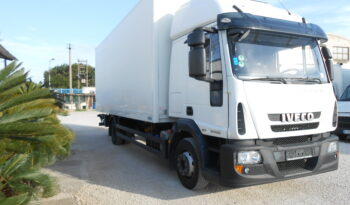 iveco eurocargo 120e25E5 furgone con sponda pieno